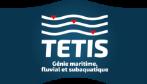Logo TETIS génie maritime fluvial subaquatique bretagne mer